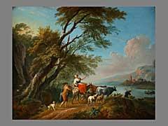Jean-Baptiste Lallemand,  1716 Dejon - 1803 Paris