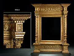 Grosser italienischer Portal-Rahmen
