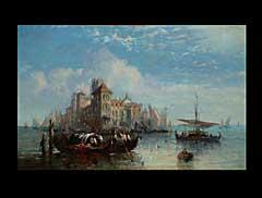 Felix Ziem 1821 Beaune - 1911 Paris