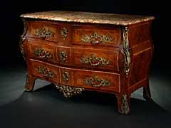 Große französische Louis XV-Kommode