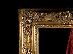Vergoldeter Bilderrahmen im Regence-Stil