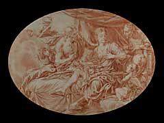 Französischer Maler/Zeichner des 18. Jhdts.
