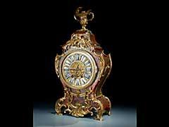Französische Pendule im Louis XV-Stil