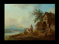 Deutsch/niederländischer Maler des 18./19. Jhdts.