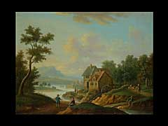 Franz Hochecker  1730 Frankfurt/Main - 1782