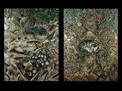 Sei Koyanagui, Französisch/Japanischer Maler des 20. Jhdts.