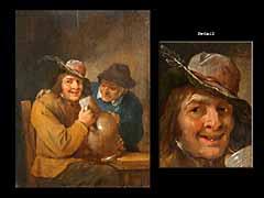 Mattheus van Helmont 1623 Antwerpen - um 1679 Brüssel