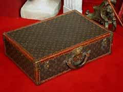 Originaler alter Louis Vuitton-Koffer