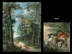 Ernst Heinrich Abel, deutscher Maler 1737 - um 1800 - zugeschrieben