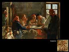 Taddäus von Ajdukiewicz  Polnischer Maler geb. 1852/53 in Krakau