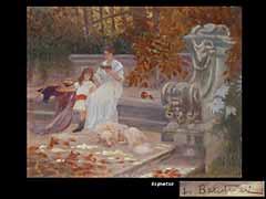 Lionello Balestieri,  italienischer Maler des 19./20. Jhdts.