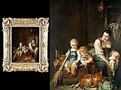 Detailabbildung: Francois Boucher 1703 - 1770 Paris