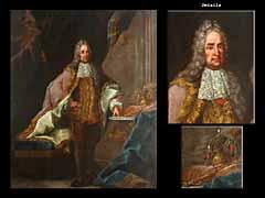 Johann Gottfried Auerbach  1697 Mühlhausen - 1753 Wien zug.
