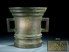 Großer Bronze-Mörser