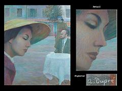 Alfred Dupré Französischer Maler des 20. Jhdts