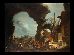 Giovanni Ghisolfi 1623 Mailand - 1683 - zug.