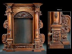 Grosser Ädikula-Rahmen im Renaissance-Stil