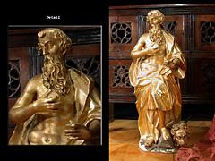 Schnitzfigur des Heiligen Hieronymus