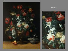 Margherita Caffi Italienische Blumenmalerin Milano 1650 - 1710