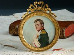 Miniaturbildnis Kaiser Napoleons