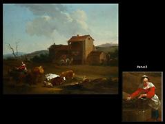 Nicolaes Pieter Berchem 1620 Harlem - 1683 Amsterdam zug.