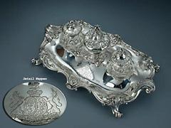 Kaiserliches Silber-Schreibset