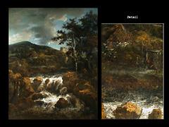 Jakob Ruysdal bzw. einem der Ruysdal-Malerfamilie zuschreibbar, Holländische Schule des 17. Jhdts.