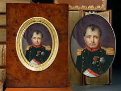 Miniaturporträt Napoleons