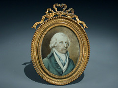 Miniatur Portraitbildnis des Marschalls Wellington
