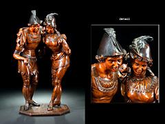 Geschnitzte Figurengruppe