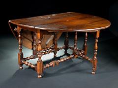 Englischer Gateleg Tisch