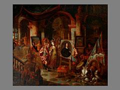 Detailabbildung: Gerard Thomas 1663 - 1720 Antwerpen