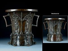 Detailabbildung: Der bedeutendste, gotische Bronzemörser der Welt