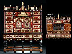 Bedeutendes Antwerpener Kabinettmöbel des 17. Jahrhunderts