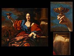 Detailabbildung: Niccolò Renieri (Nicolas Regnier)1591 Maubeuge, Frankreich – 1667 Venedig