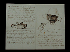 BRIEF VON MAX LIEBERMANN VON 1882