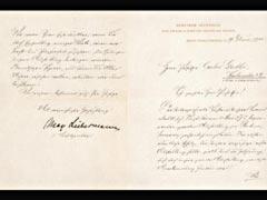 BRIEF VON MAX LIEBERMANN VOM 19.2.1900