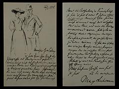 BRIEF VON MAX LIEBERMANN VOM 26.2.1906