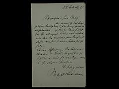 BRIEF VON MAX LIEBERMANN VOM 23.12.1906