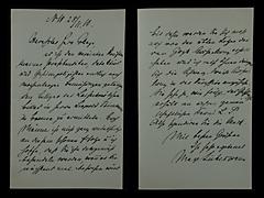BRIEF VON MAX LIEBERMANN VOM 28.11.1910