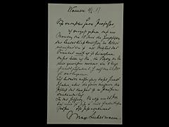 BRIEF VON MAX LIEBERMANN VOM 11.6.1917