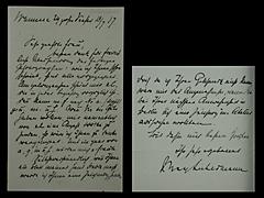 BRIEF VON MAX LIEBERMANN VOM 18.7.1917
