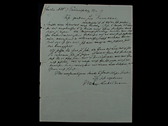 BRIEF VON MAX LIEBERMANN MIT UMSCHLAG UND MARKE VOM 21.12.1919