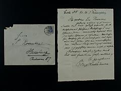 Brief VON MAX LIEBERMANN MIT UMSCHLAG UND MARKEN VOM 3.3.1920