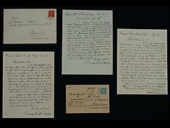 BRIEF VON MAX LIEBERMANN VOM 15.8.1924 MIT UMSCHLAG UND MARKE