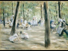Detail images: Max Liebermann, 1847-1935 Berlin