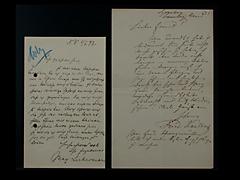 BRIEF VON MAX LIEBERMANN VOM 3.6.1897