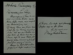 BRIEF VON MAX LIEBERMANN VOM 16.3.1917