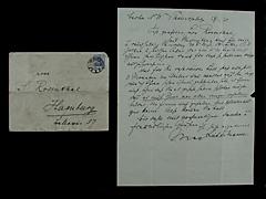 BRIEF VON MAX LIEBERMANN VOM 27.1.1920