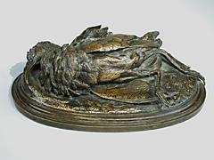 Bronze eines Vogels
